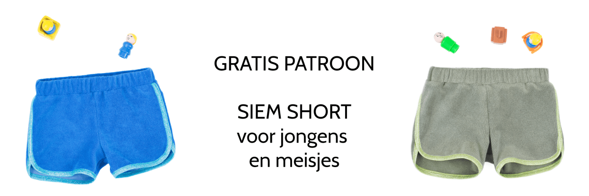 Retro short - gratis patroon